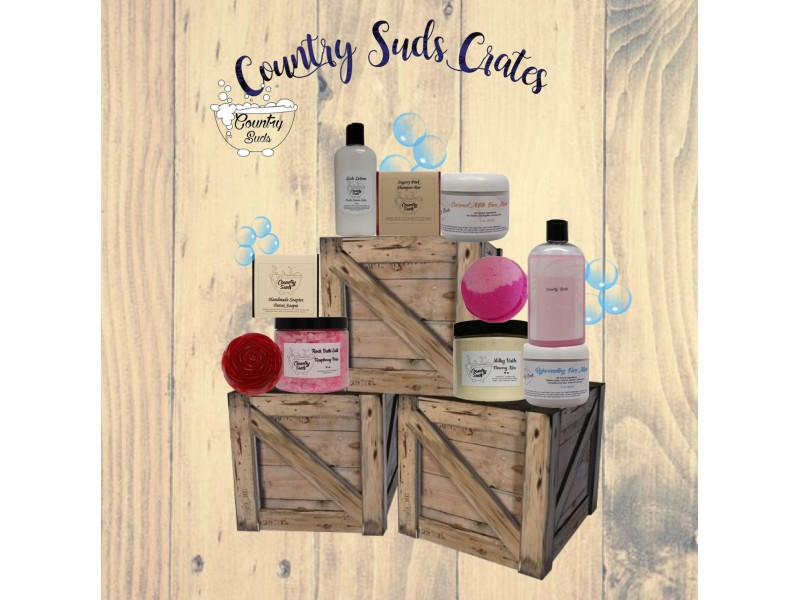 $25 Country Suds Crate - Myste...