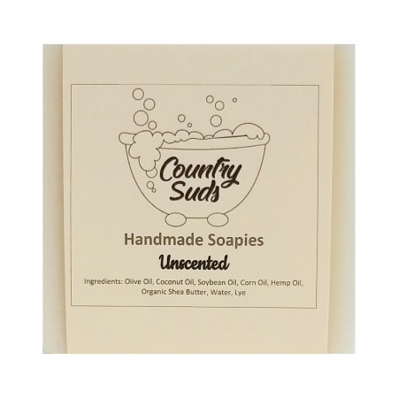 Unscented Olive Oil Soapie