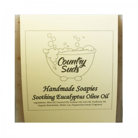 Soothing Eucalyptus Olive Oil Soapie
