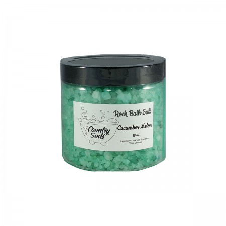 Cucumber Melon 16oz Rock Bath Salt