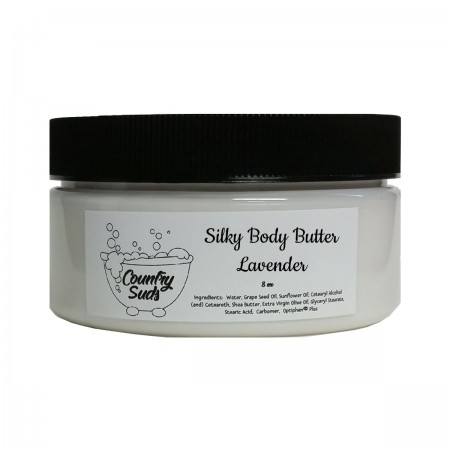 Lavender 8oz Silky Body Butter