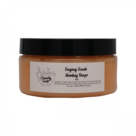 Monkey Burps 8oz Sugary Scrub