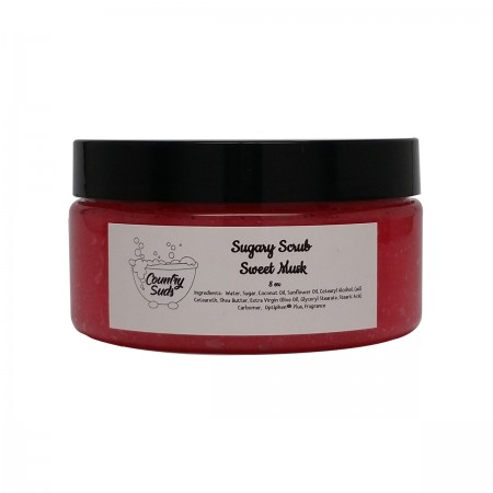 Sweet Musk 8oz Sugary Scrub