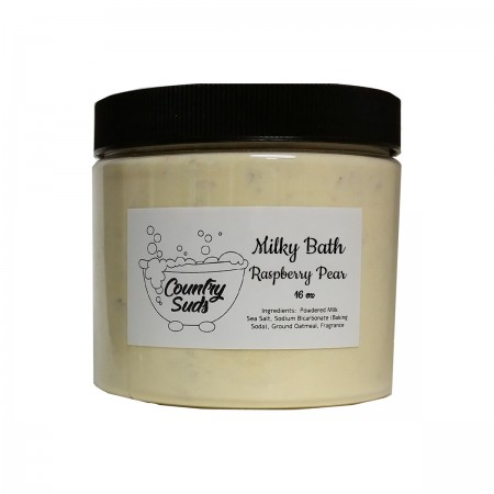 Raspberry Pear 16oz Milky Bath