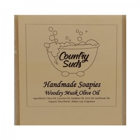 Woodsy Musk Olive Oil Soapie
