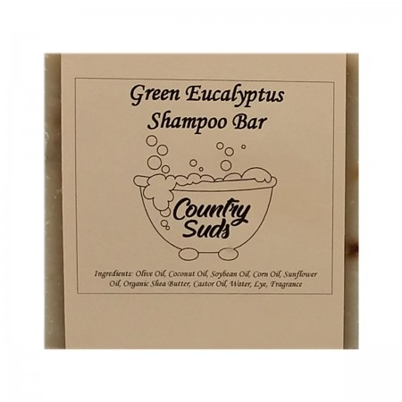 Green Eucalyptus Shampoo Bar
