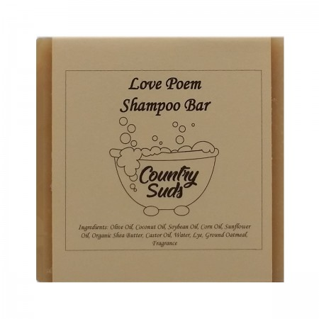 Love Poem Shampoo Bar