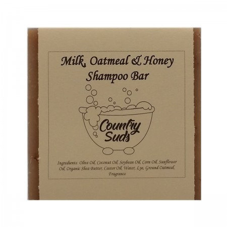 Milk Oatmeal And Honey Shampoo Bar