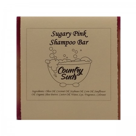 Sugary Pink Shampoo Bar