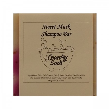 Sweet Musk Shampoo Bar