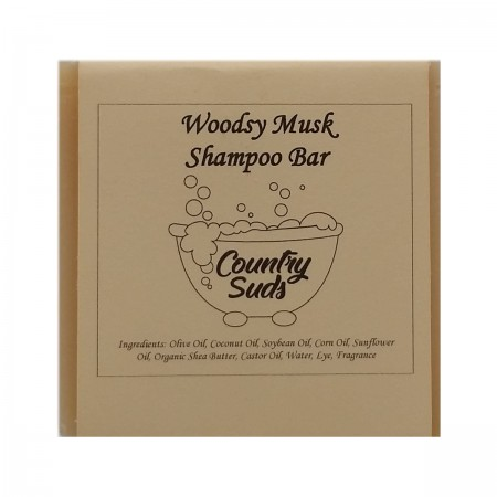 Woodsy Musk Shampoo Bar