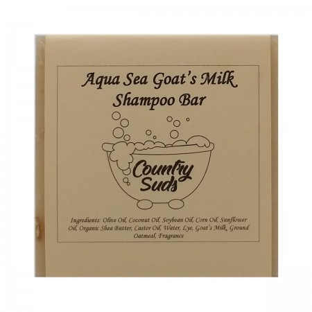 Aquasea Goat Milk Shampoo Bar