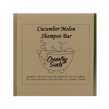 Cucumber Melon Shampoo Bar