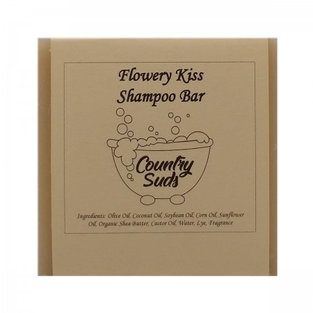 Flowery Kiss Shampoo Bar
