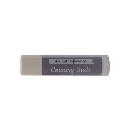 Natural Unflavored Lip Balm