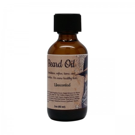 Unscented Beard Oil with Dropper