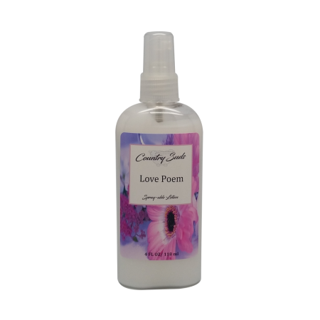 Love Poem 4oz Spray Lotion