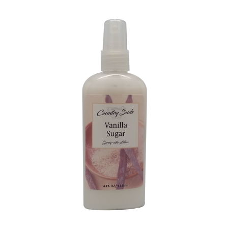 Vanilla Sugar 4oz Spray Lotion