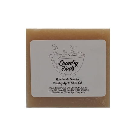 Country Apple Olive Oil Soapie