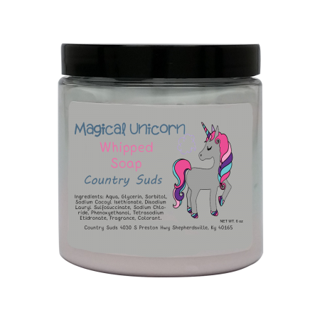 Magical Unicorn Whipped Soap