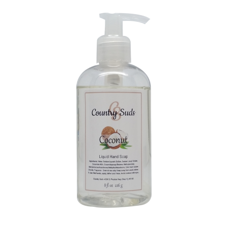 Coconut Liquid Hand Soap