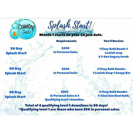 Splash Start Level 1