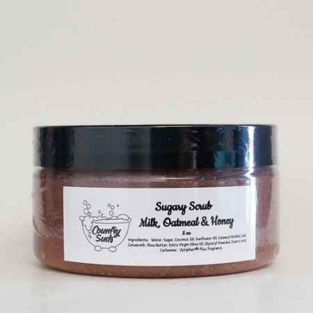 Milk Oatmeal and Honey 8oz Sugary Scrub