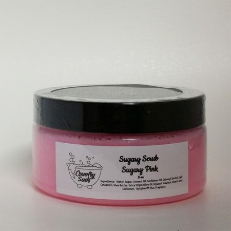 Sugary Pink 8oz Sugary Scrub